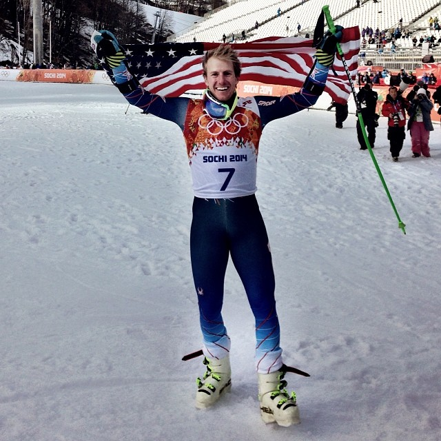 Ted Ligety gold in Sochi GS